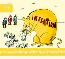 11. Inflation: How You Are Being Robbed By A Stealthy Thief