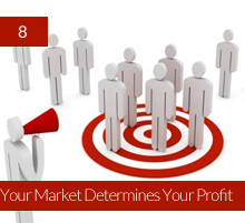 8. Your Market Determines Your Profit