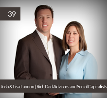 39: Josh & Lisa Lannon | Rich Dad Advisors and Social Capitalists