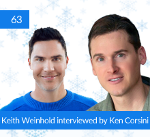 63: Keith Weinhold interviewed by Ken Corsini