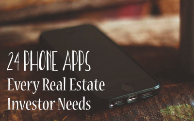 24 Phone Apps Every Real Estate Investor Needs