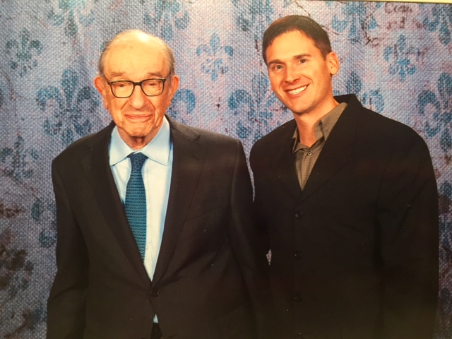 With Greenspan in New Orleans