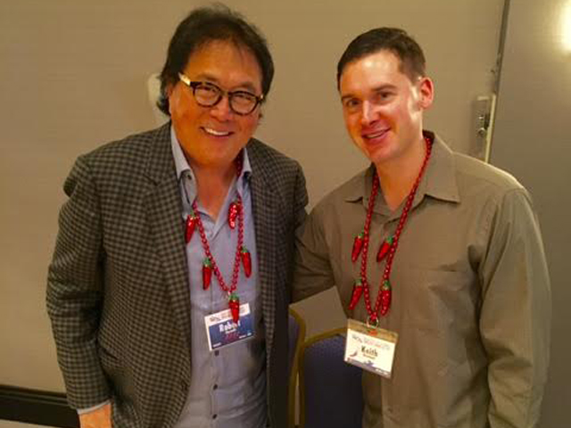 With Kiyosaki in Miami