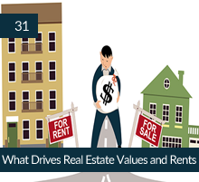 31: What Drives Real Estate Values and Rents