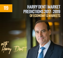 119: Harry Dent | Market Predictions 2017 – 2019