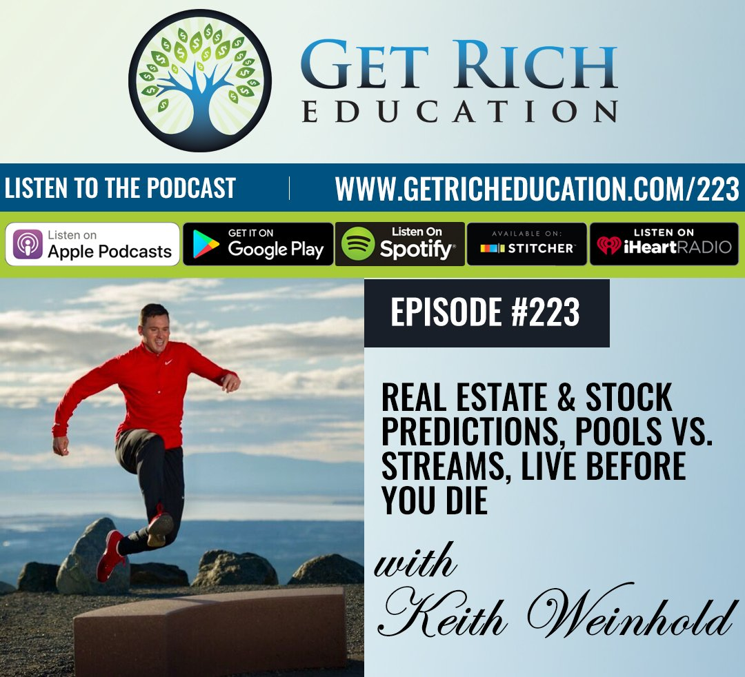 223: Real Estate & Stock Predictions, Pools vs. Streams, Live Before You Die