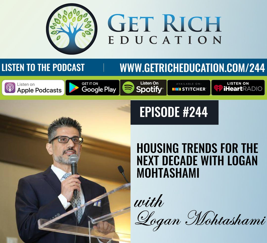 244: Housing Trends For The Next Decade with Logan Mohtashami