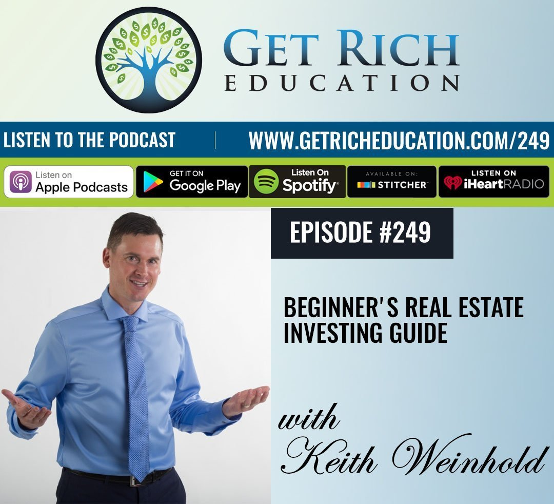 249: Beginner's Real Estate Investing Guide
