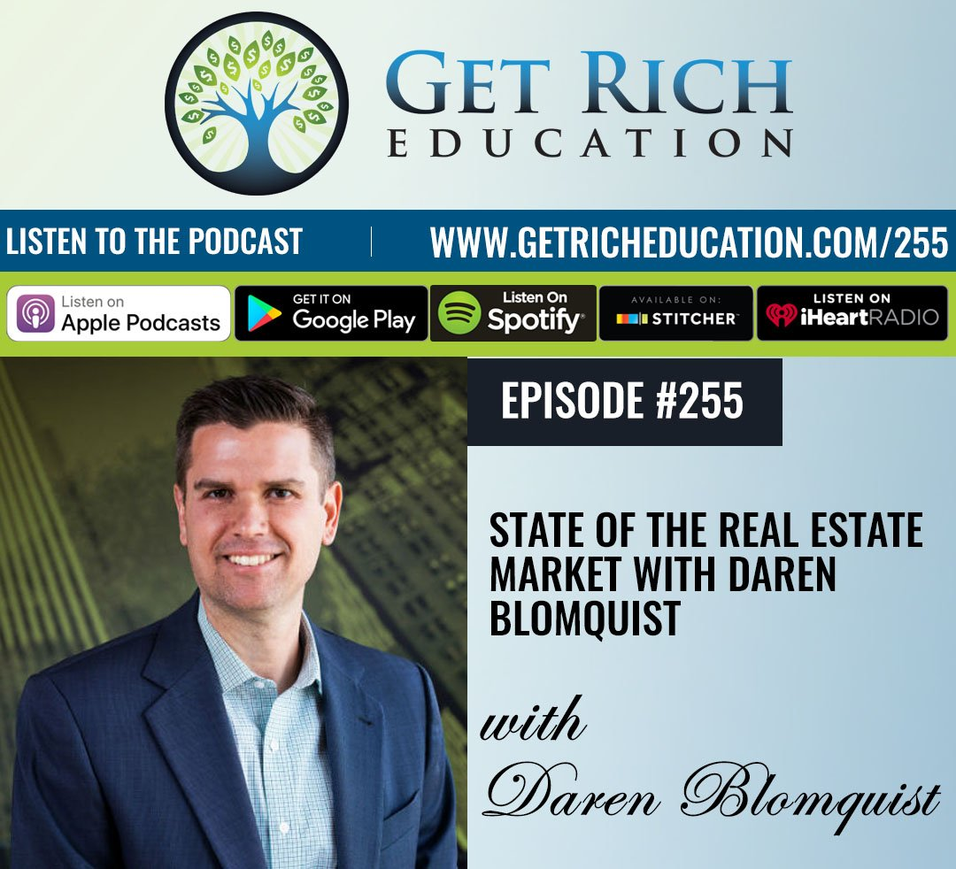 255: State Of The Real Estate Market with Daren Blomquist