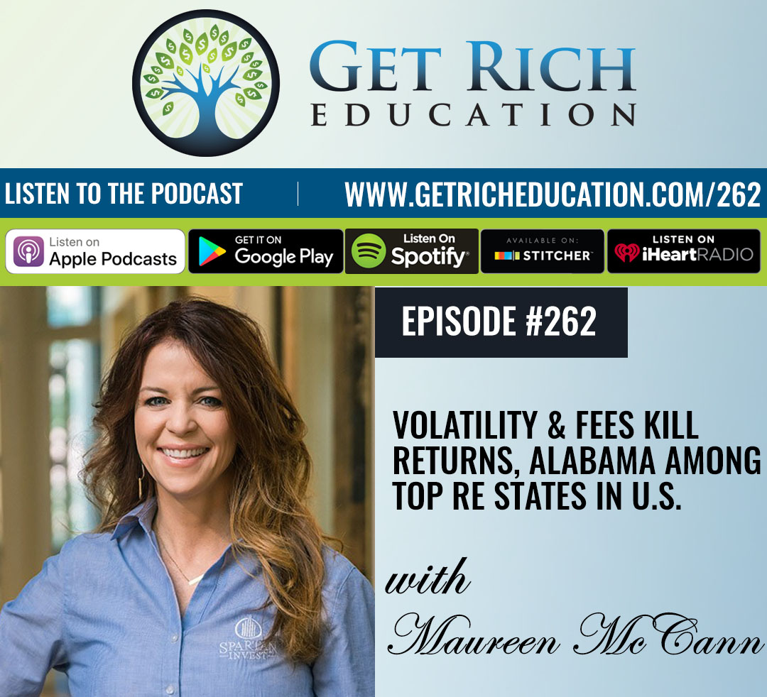 262: Volatility & Fees Kill Returns, Alabama Among Top RE States In U.S.