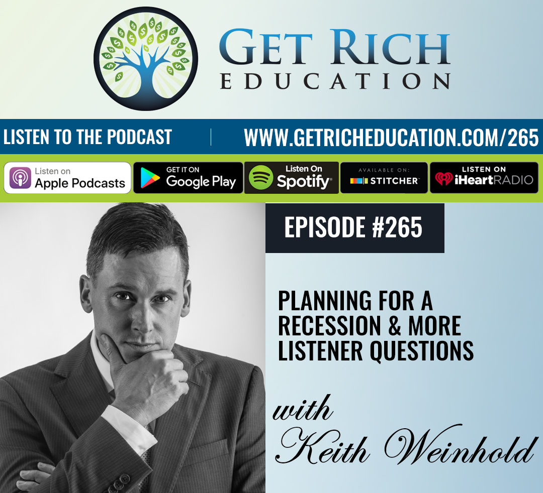 265: Planning For A Recession & More Listener Questions