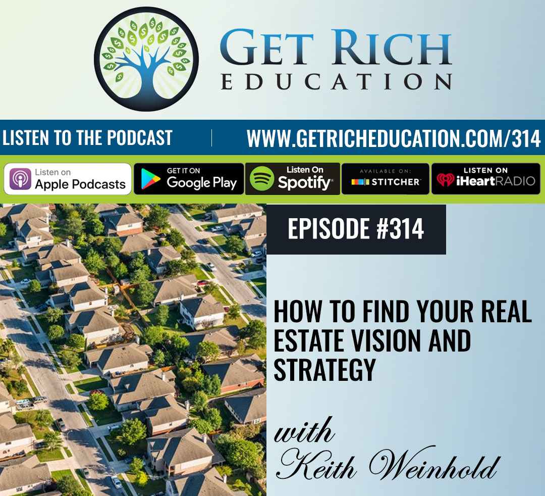 How To Find Your Real Estate Vision and Strategy
