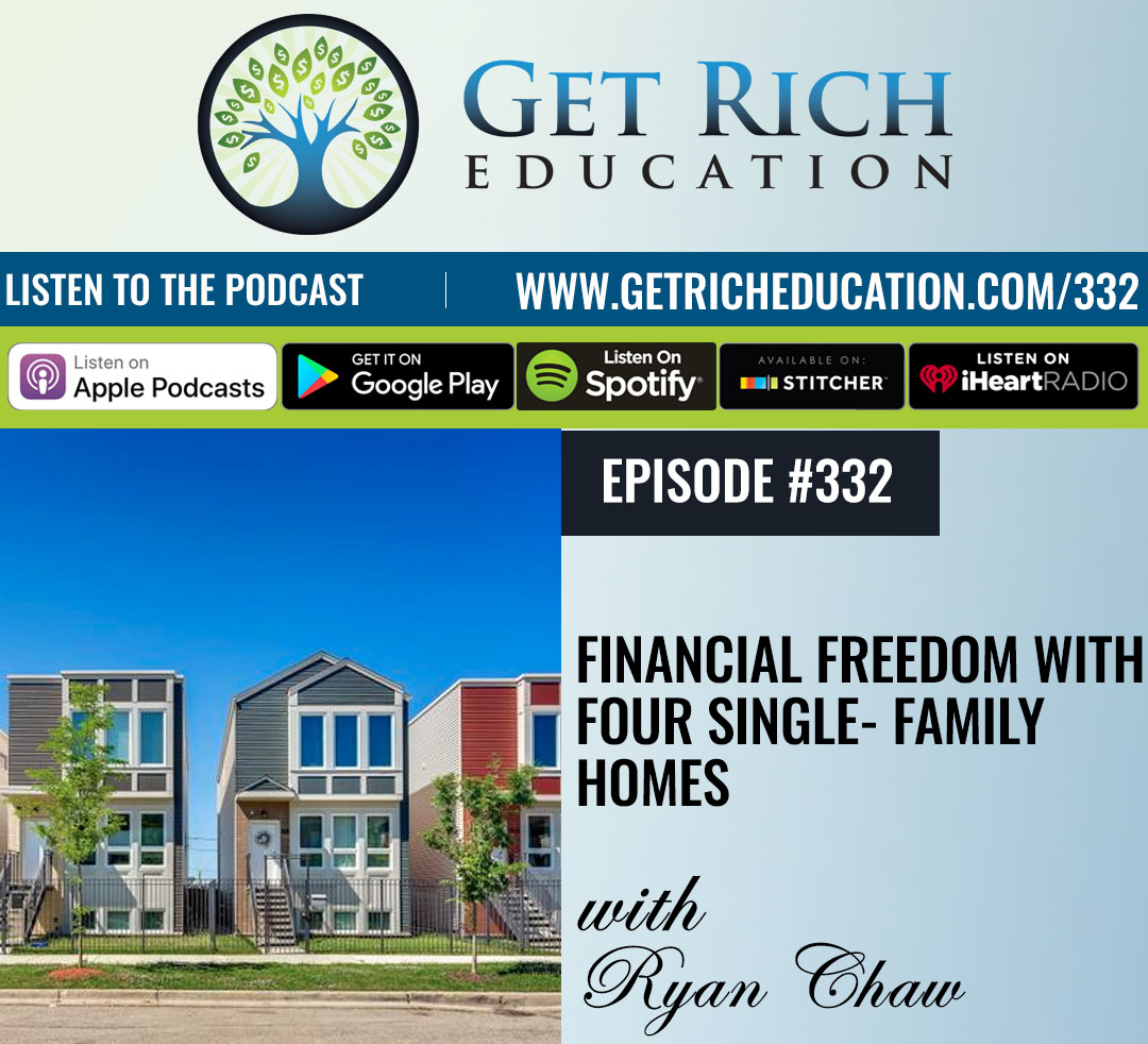 Financial Freedom With Four Single-Family Homes