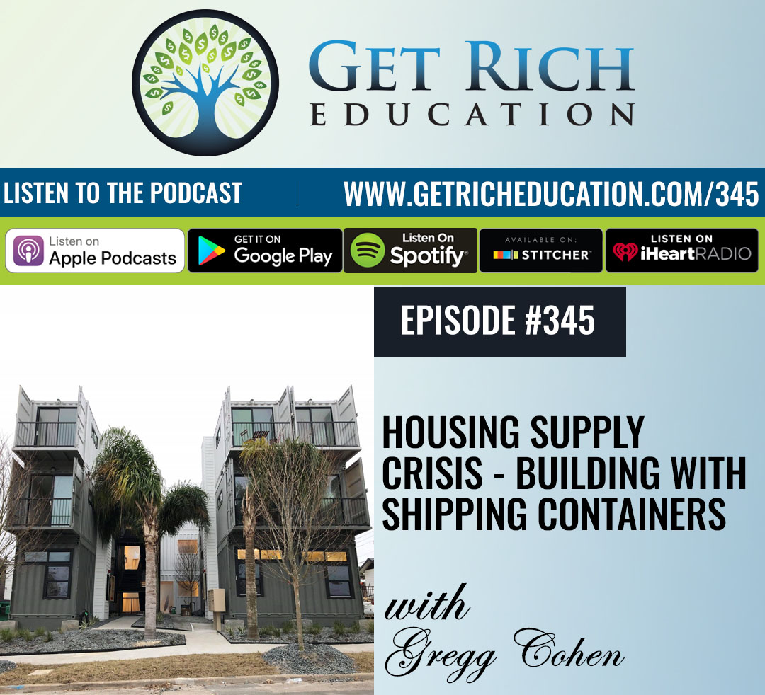 Housing Supply Crisis - Building With Shipping Containers